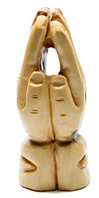 Hand-Carved-Olive-Wood-Praying-Hands-Statue-Sculpture-From-Holy-Land-39-0-0