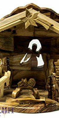 Handmade-Hand-Carved-Olive-Wood-Nativity-Set-with-Bethlehem-Star-Holy-Land-67-0