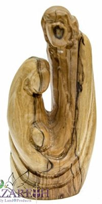 Holy-Family-Faceless-Olive-Wood-Statue-Carved-Figure-57-Handmade-Nazareth-0-0