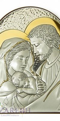 Holy-Family-Icon-Italian-Sterling-Silver-950-With-9K-Gold-From-Nazareth-6-0-0
