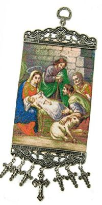 Holy-Family-Wall-Hanging-Tapestry-Icon-Textile-Banner-From-Holy-Land-106-0-0