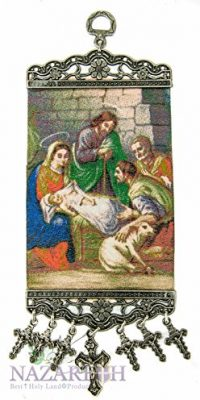 Holy-Family-Wall-Hanging-Tapestry-Icon-Textile-Banner-From-Holy-Land-106-0