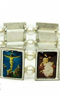 Holy-Saints-Jerusalem-Bracelet-Metal-Flexible-Fashion-Unisex-Ornament-Holy-Land-0