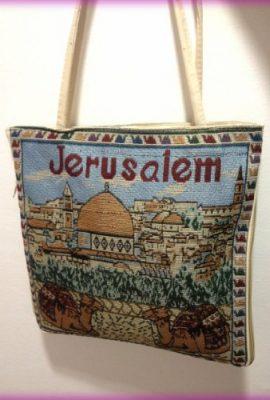 Jerusalem-Camel-Handmade-Hand-bag-Hand-Bag-Zipper-Cloth-Beautiful-Holy-Land-0-1