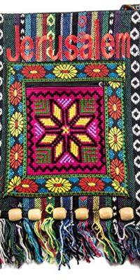 Jerusalem-Camel-Handmade-Hand-bag-Hand-Bag-Zipper-Cloth-Beautiful-Holy-Land-0-2