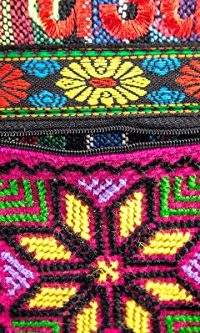 Jerusalem-Camel-Handmade-Hand-bag-Hand-Bag-Zipper-Cloth-Beautiful-Holy-Land-0-4