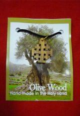 Jerusalem-Cross-Olive-Wood-Pendant-on-Thread-Necklace-Hand-Made-Holy-Land-0