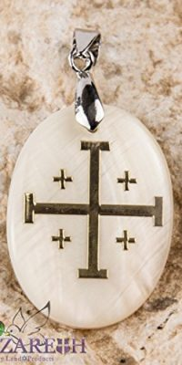 Jerusalem-Cross-Pearl-Pendant-Mother-of-Pearl-Golden-Cross-Amulet-From-Holy-Land-0