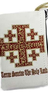 Jerusalem-Cross-Rosary-Icon-Pouch-Tapestry-Prayer-Keepsake-Holy-Land-Case-57-0