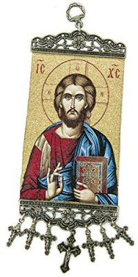 Jesus-Christ-The-Teacher-Greek-Hanging-Wall-Tapestry-Icon-Banner-Holy-Land-106-0-0