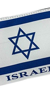 Jewish-ISRAEL-Flag-Pouch-Keepsake-Bag-Banner-Case-From-Jerusalem-57-0-0