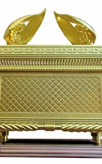 Judaica-Gold-Ark-of-the-Covenant-Testimony-Copper-Base-17-Extra-Large-Size-0