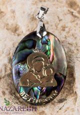 Mary-of-Bethlehem-Abalone-Shell-Pendant-Pearl-Madonna-Jesus-Handmade-Amulet-12-0