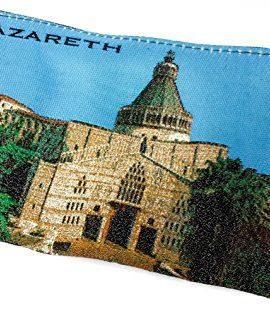 Nazareth-Annunciation-Church-Rosary-Icon-Pouch-Tapestry-Prayer-Keepsake-Case-0-0