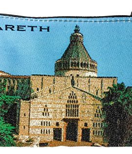 Nazareth-Annunciation-Church-Rosary-Icon-Pouch-Tapestry-Prayer-Keepsake-Case-0