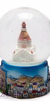 Nazareth-Annunciation-Church-Snow-Globe-Souvenir-Ceramic-Glass-Ball-44-11cm-0