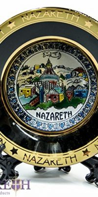New-Nazareth-Plate-Annunciation-Church-43-Wall-Hanging-Stand-Handmade-0