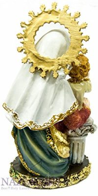 Our-Lady-Blessed-Virgin-Mary-Baby-Jesus-Figurine-Hand-Painted-Holy-Land-Statue-0-2