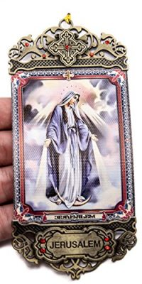 Our-Lady-of-Divine-Grace-Providence-Wall-Hanging-Tapestry-Icon-Textile-Banner-With-red-Zircon-stones-From-Jerusalem-0-0