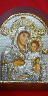 Saint-Mary-with-Baby-Jesus-11-Sterling-Silver-925-Icon-From-Nazareth-Holy-Land-0