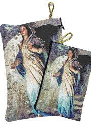 Set-Madonna-Virgin-Mary-Rosary-Icon-Pouch-Tapestry-Keepsake-Pray-Case-Jerusalem-0