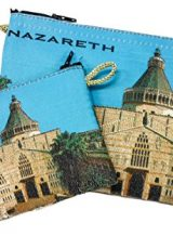 Set-Nazareth-Annunciation-Church-Rosary-Icon-Pouch-Tapestry-Keepsake-Prayer-Case-0