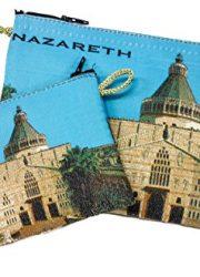 Set-Nazareth-Annunciation-Church-Rosary-Icon-Pouch-Tapestry-Keepsake-Prayer-Case-0