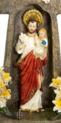 St-Joseph-Holding-Baby-Jesus-Candle-Holder-Cross-Shaped-Peace-Statue-Nazareth-0-0