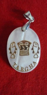 Tabgha-Mother-of-Pearl-Pendant-Jesus-Fish-Handmade-Medal-Holy-Land-Gift-0