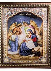 The-Nativity-Of-Jesus-Unique-Plaque-Padded-Wall-Picture-Holy-Land-114-29-cm-0-0