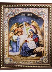 The-Nativity-Of-Jesus-Unique-Plaque-Padded-Wall-Picture-Holy-Land-114-29-cm-0