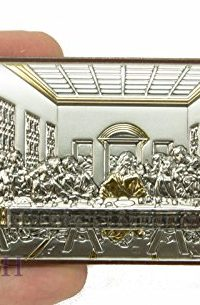 Unique-Last-Supper-Of-Jesus-Icon-Italian-Sterling-Silver-950-With-9K-Gold-Parts-0-0