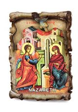 Virgin-Mary-Annunciation-StGabriel-Nazareth-Wooden-Magnet-Holy-Land-Souvenir-3-0