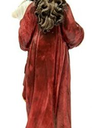 Virgin-Mary-Madonna-Baby-Jesus-Figure-Hand-Painted-Resin-Statue-Holy-Land-51-0-2