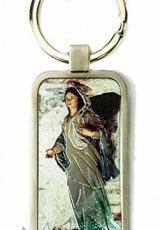 Virgin-Mary-Nazareth-Gift-Keychain-Catholic-Key-Ring-Holy-Land-Charm-24-0