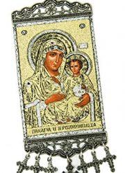 Virgin-Mary-Of-Jerusalem-Baby-Jesus-Hanging-Wall-Tapestry-Icon-Holy-Land-106-0-0