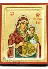 Virgin-Mary-With-Baby-Jesus-Byzantine-Wood-Icon-Handmade-Christian-Icona-51-0