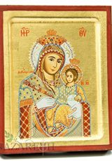 Virgin-Mary-With-Jesus-Christ-Byzantine-Wood-Icon-Handmade-Christian-Icona-67-0