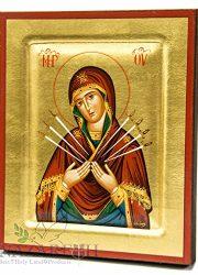 Virgin-Mary-of-Seven-Swords-Byzantine-Wood-Icon-Handmade-Christian-Icona-67-0-0