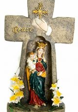Virgin-Mary-with-Baby-Jesus-Candle-Holder-Cross-Shaped-Peace-Statue-Nazareth-0