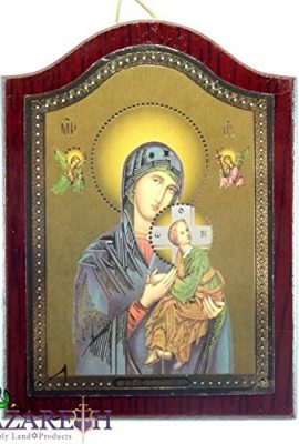 Wooden-Icon-Virgin-Mary-with-Baby-Jesus-Handmade-Icon-From-Jerusalem-Holy-Land-0