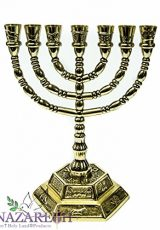 Brass-Golden-Jerusalem-Menora-Judaica-Menorah-Made-in-Israel-Holy-Land-77-0