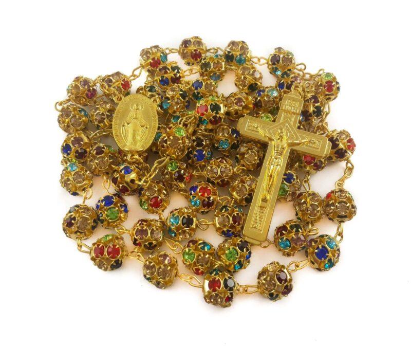 Golden rosary