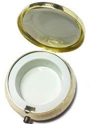 Holy-land-Keepsake-Round-Golden-Metal-Pill-Mint-Box-Case-Jerusalem-16-0-0
