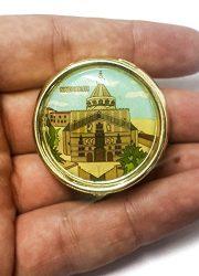 Holy-land-Keepsake-Round-Golden-Metal-Pill-Mint-Box-Case-Jerusalem-16-0-1