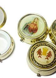 Holy-land-Keepsake-Round-Golden-Metal-Pill-Mint-Box-Case-Jerusalem-16-0-3