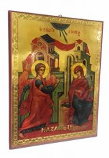 Annunciation-of-Blessed-Mary-Russian-Icon-Plaque-Blessed-Jerusalem-Souvenir-37-0-1