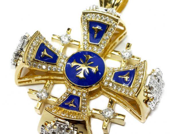 Jerusalem Cross Of Holy Land