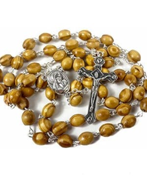 Rosary With Holy Soil Metal Devout