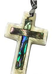 Small-Catholic-Mother-Of-Pearl-Shell-Crucifix-Pendant-Handmade-Cross-Jerusalem-0-1